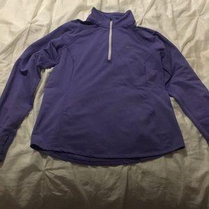 Purple Nike sweat shirt